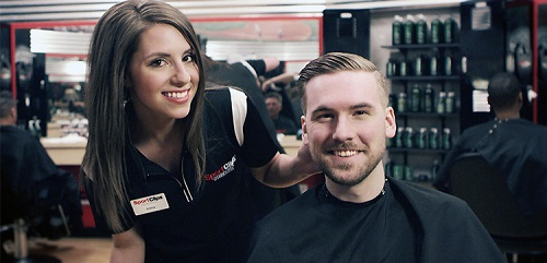 Sport Clips Haircuts of North Norman​ stylist hair cut